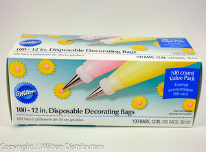 DISPOSABLE DECORATING BAGS