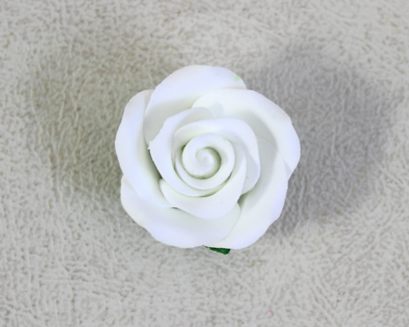 GUMPASTE ROSE SMALL 8PC WHITE