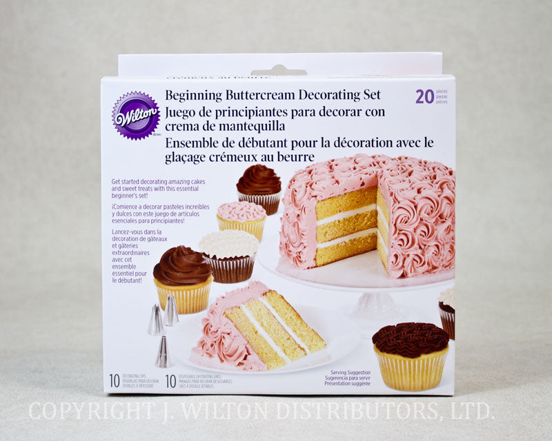 CAKE DECORATING SET 20PC.