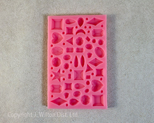 SILICONE MOLD ASSORTED SHAPES