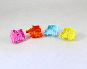 COOKIE CUTTER TRAFFIC SMALL 4PC