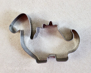 COOKIE CUTTER STAINLESS STEEL DINOSAUR