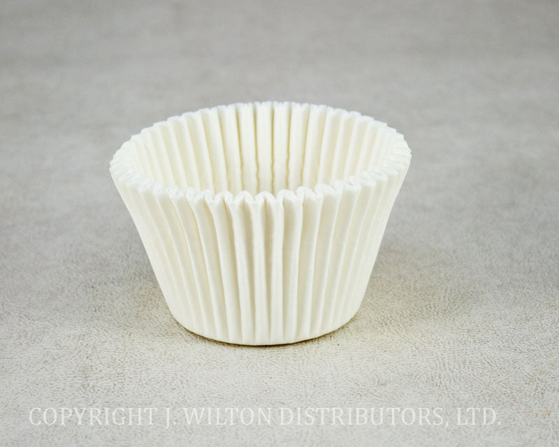 JUMBO BAKING CUP 55x50mm 500pc. WHITE