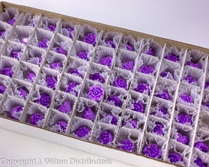 "ROSE 3/4"" 66PC LAVENDER"