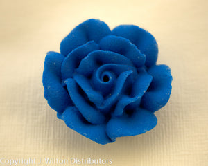 "ROSE 1 1/4"" 32PC ROYAL BLUE"
