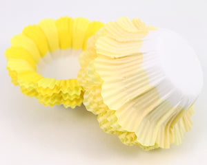 BAKING CUP- BLOSSOM 12 COUNT YELLOW