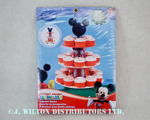 CUPCAKE & TREAT STAND MICKEY