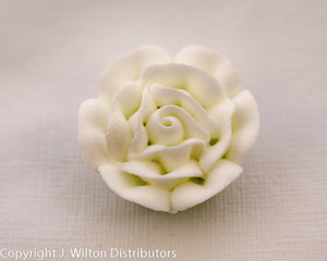"ROSE 1 1/4"" 32PC WHITE"