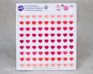 ICING DECORATION MINI HEARTS