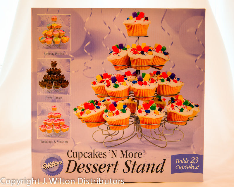 CUPCAKES 'N MORE STAND 38 COUNT