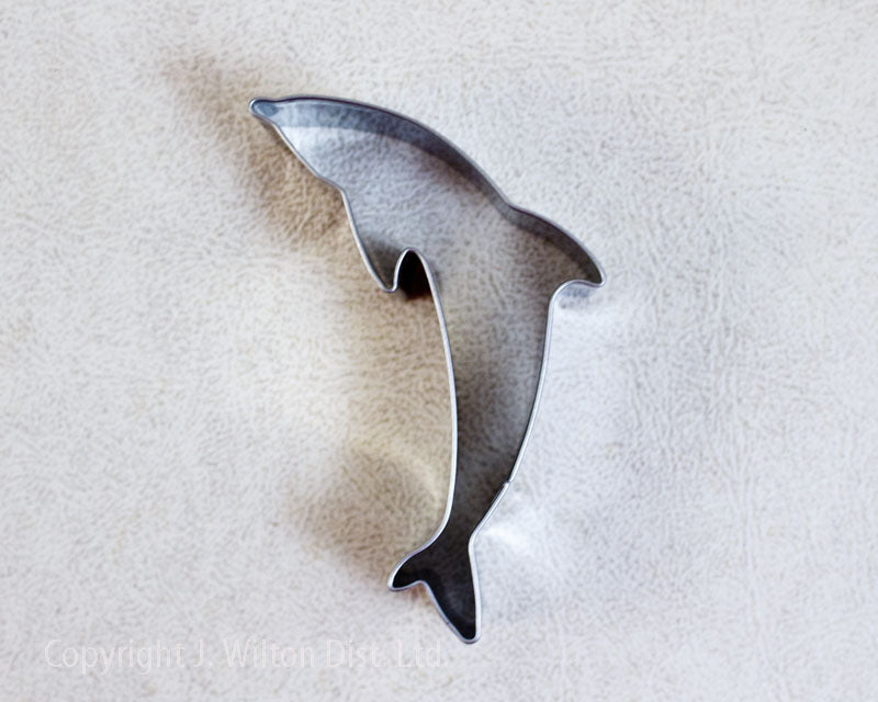 COOKIE CUTTER STAINLESS STEEL DOLPHIN