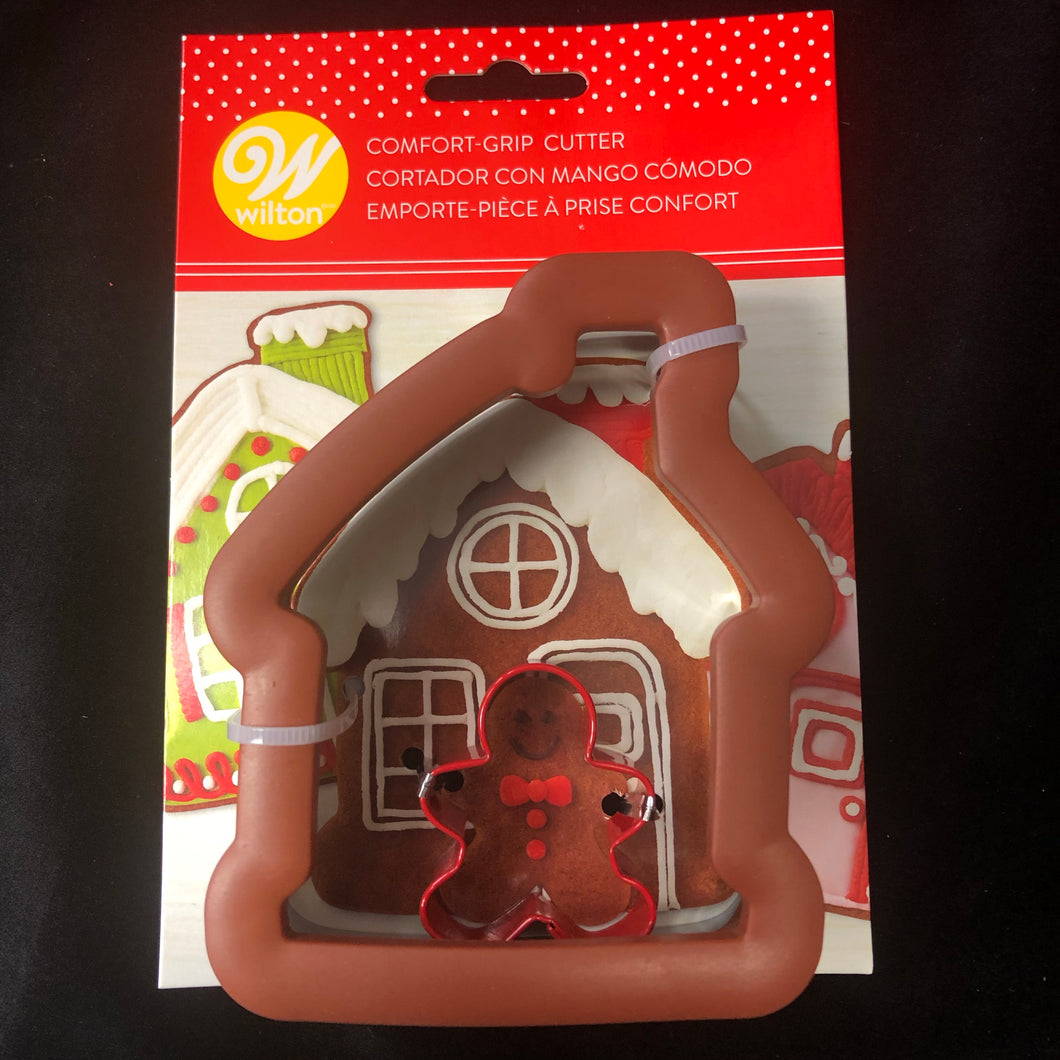 COOKIE CUTTER COMFORT GRIP GINGERBREAD HOUSE