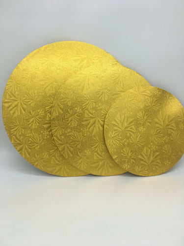 CAKE BOARDS - GOLD