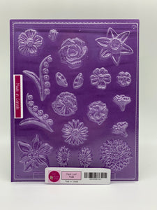 Candy Island Chocolate Mold #508 - Assorted Flowers