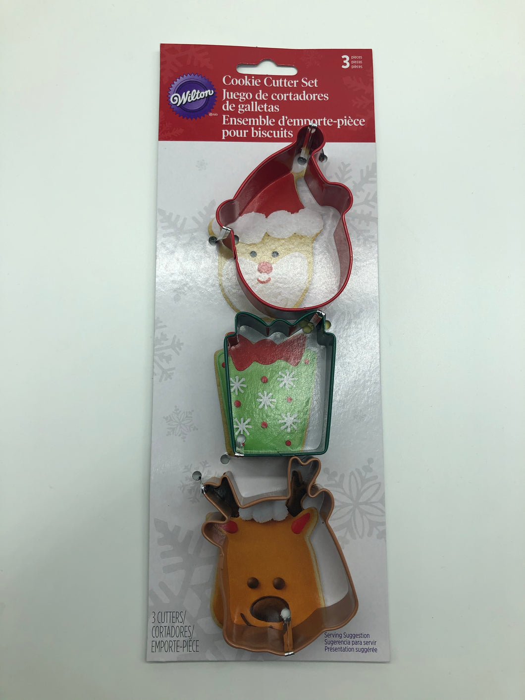 Cookie Cutter Set Santa 3PC