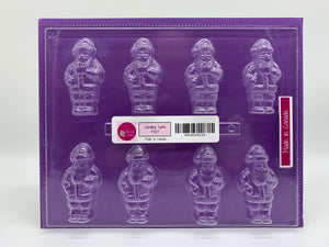 Candy Island Chocolate Mold  #217- Standing Santa