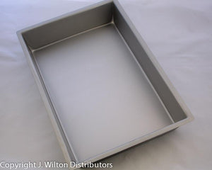 "SHEET CAKE PAN 3"" HIGH"