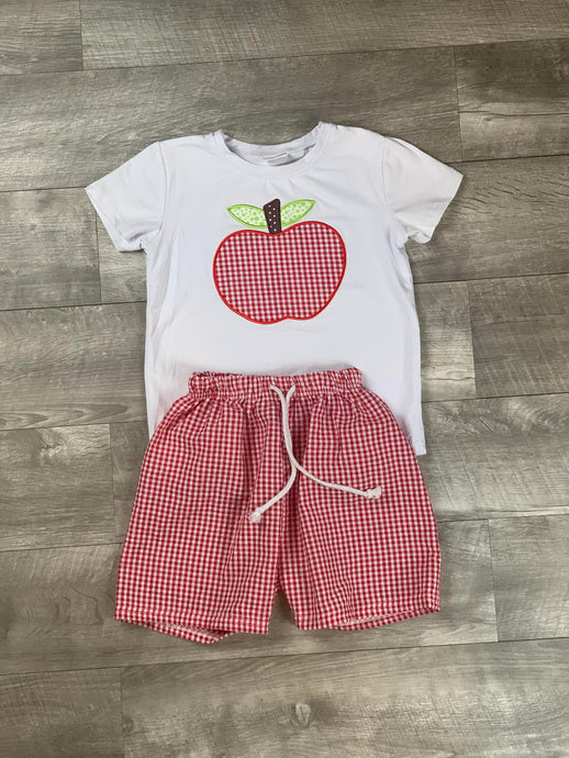 Apple Of My Eye Short Set
