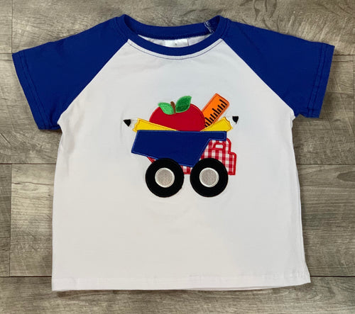 Back To School Dump Truck T