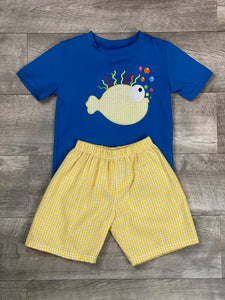 Blow Fish Short Set