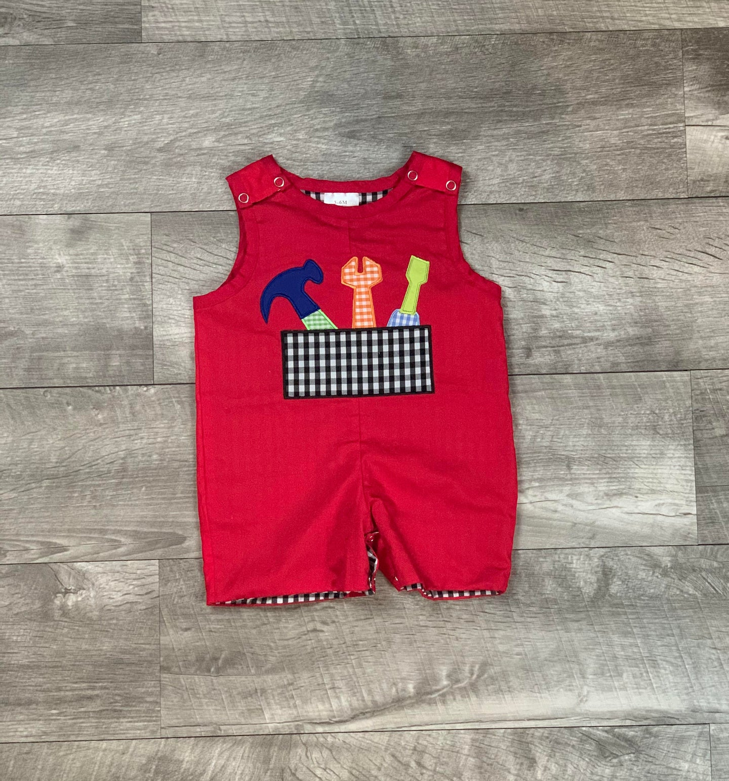Daddy's Little Helper Romper
