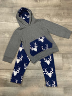 Deer Head Pant Set