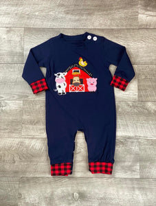 Farm Friends Romper