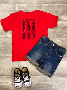 Pretty Fly For A Little Guy Shirt
