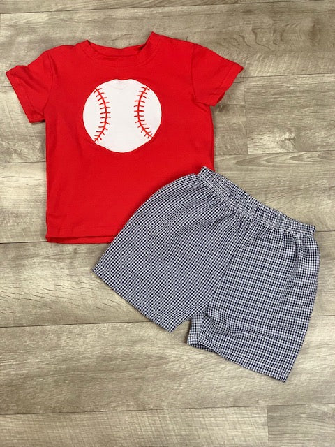 Baseball short set