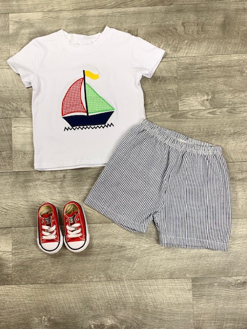 Sailboat short set