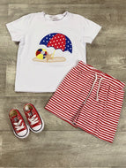 Beach boy short set