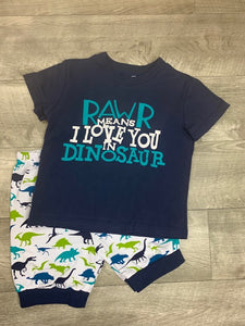 Rawr - Means I love you in Dinosaur