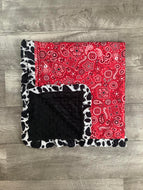 Red Bandanna Blanket