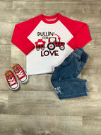 Pulling For Love Raglan