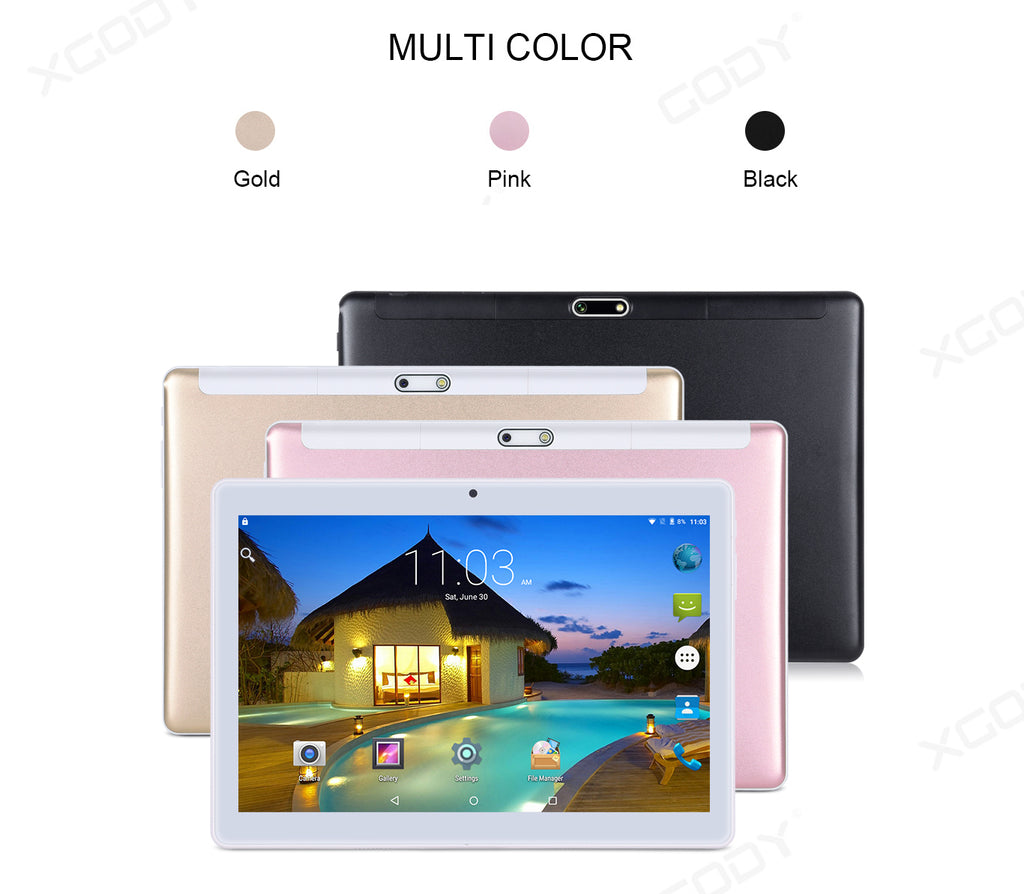 XGODY TB02 10 inch tablet learning at home