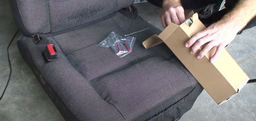 Universal Seat Heater Kit: Installs in any car. The permanent cure for the cold winter rump!