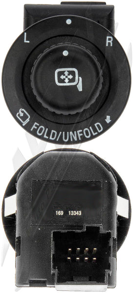 APDTY 012453 Master Power Mirror Control Switch Fits Select 07-16 Ford / Lincoln
