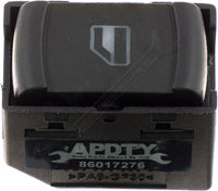 APDTY 012613 Power Window Switch Front Right or Rear Left or Rear Right 1 Button