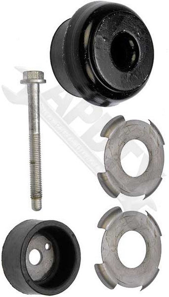APDTY 035151 Truck Body Cab Rubber Mount Bolt & Washer Kit (Sold Individually)