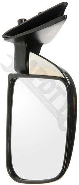 APDTY 066322 Side View Mirror - Right , Manual, Window Mount, W/O Vent, Chrome