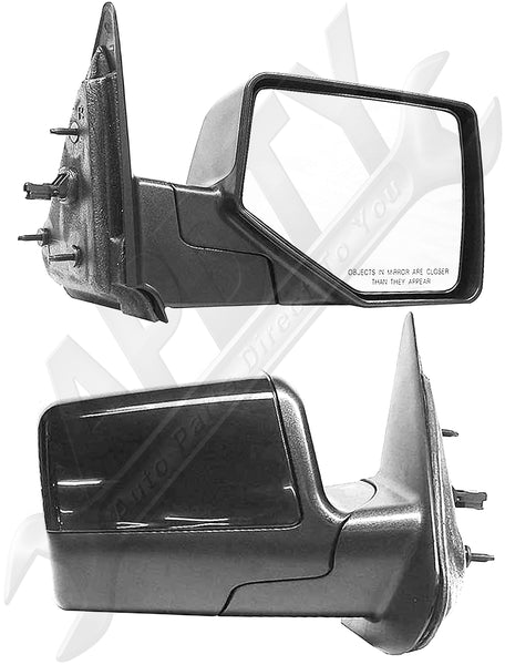 APDTY 066980 Side View Mirror Right Power