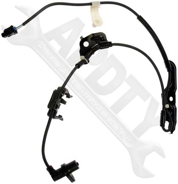 APDTY 081516 ABS Wheel Speed Sensor w/ Harness Fits Select 02-12 Lexus / Toyota