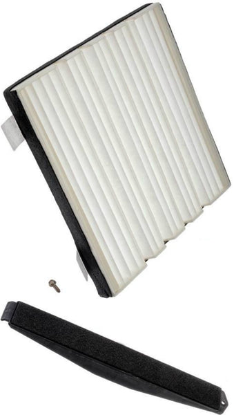 APDTY 112724 Cabin Air Filter Add-On Retro Kit (Standard Filter, Cover & Screws)