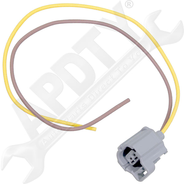 APDTY 133814 Wiring Harness Pigtail Connector 2-Wire Fits Ford IMRC or Sensor