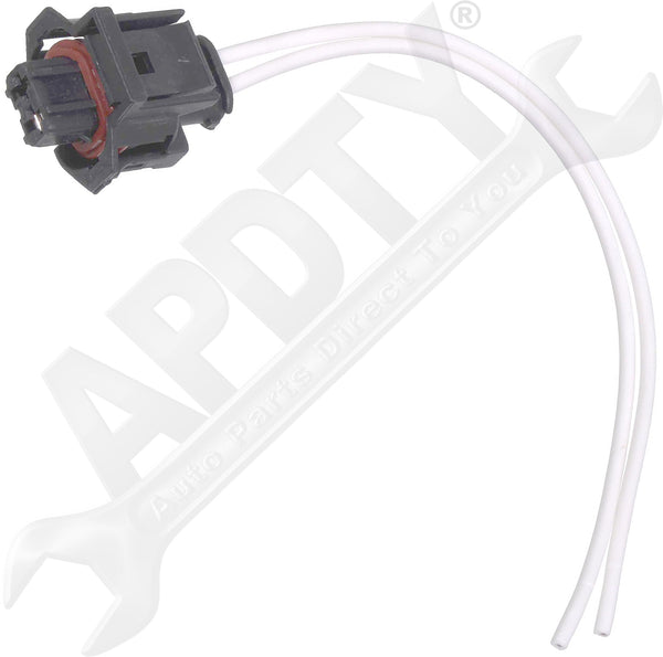 APDTY 133821 6.6L Duramax Diesel Fuel Injector Wiring Harness Pigtail Connector