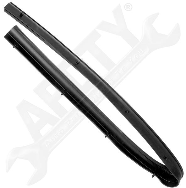 APDTY 133984 Rubber Weather Strip Front Left or Right Lower Door Seal Ford F250
