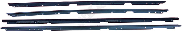 APDTY 134002 Door Window Dew Wipe Weatherstrip Left Right Inner Outer Camaro Fir