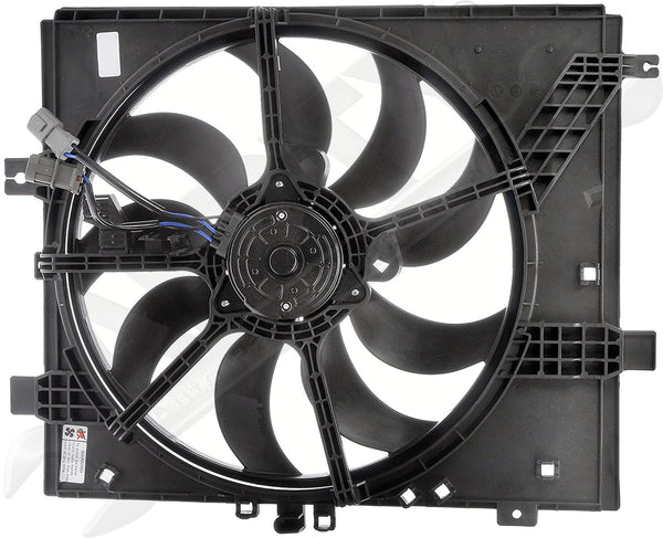 APDTY 134906 Single Fan Assembly