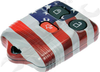 APDTY 137395 Keyless Remote Case American Flag Ford Lincoln Mazda Mercury