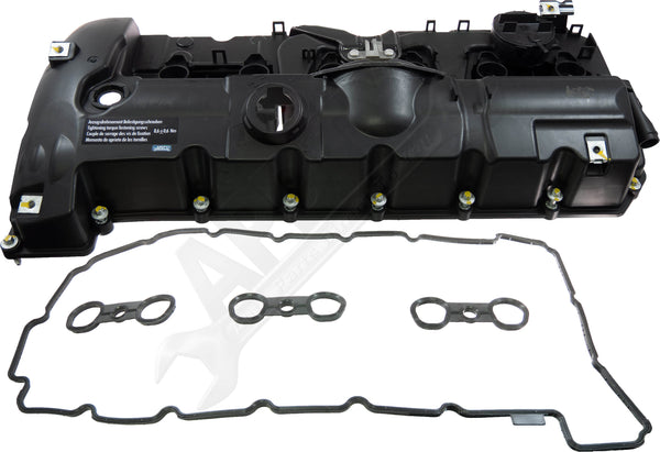 APDTY 139985 Engine Cylinder Head Valve Cover w/ PCV Valve & Gasket Assembly